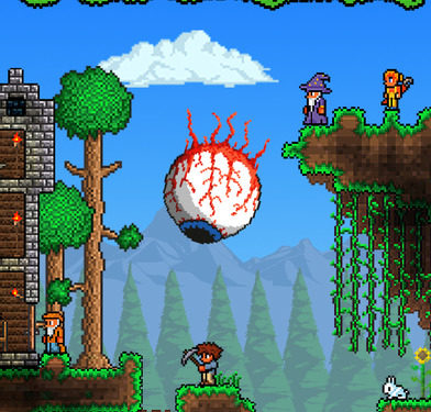 how to find sky islands in terraria xbox 360